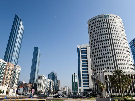 Stock Abu Dhabi Chamber building