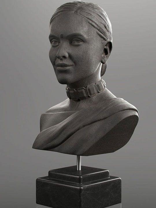 Deepika Statue at Athens airport