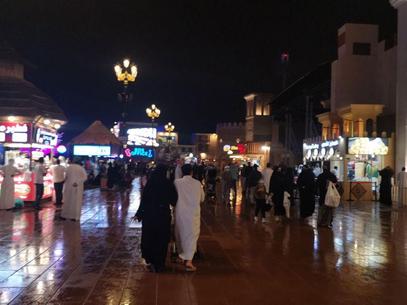 Rain in UAE