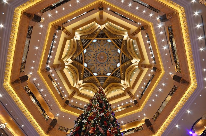 Emirates Palace Chrtistmas Tree