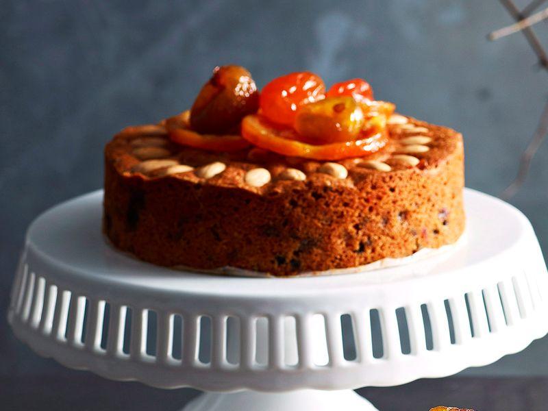 Gluten-free glacé fruit cakes
