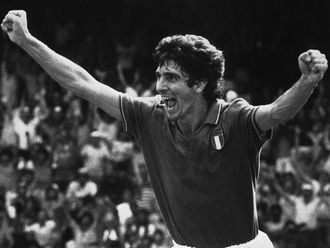 Italy legend Paolo Rossi
