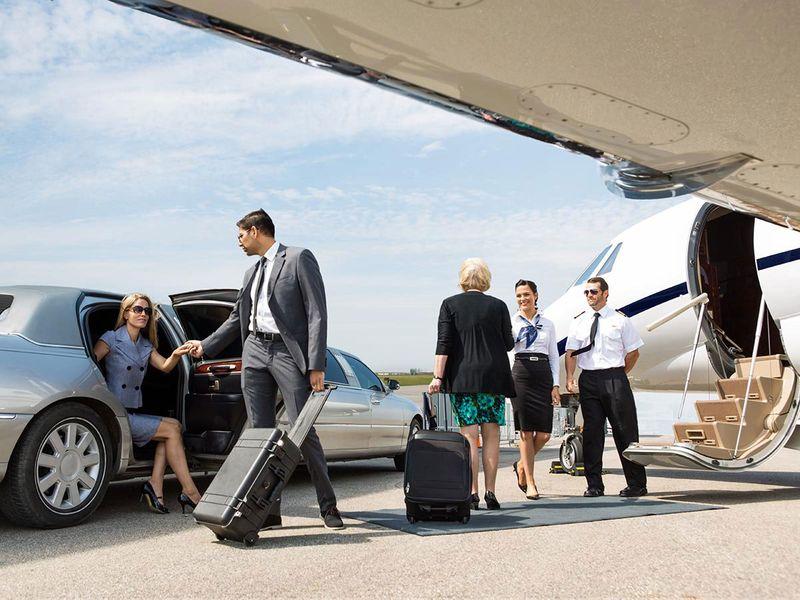 Stock - Private Jet