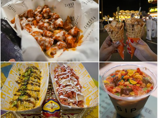 Unusual food combinations to try out at Global Village