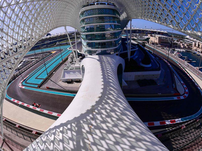 Abu Dhabi Grand Prix pactice