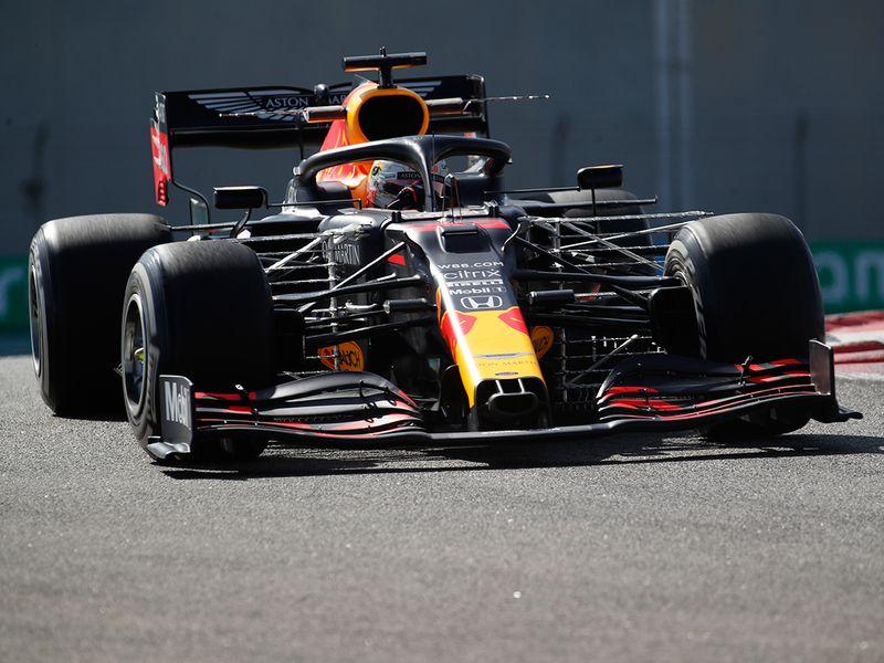 Abu Dhabi Grand Prix practice