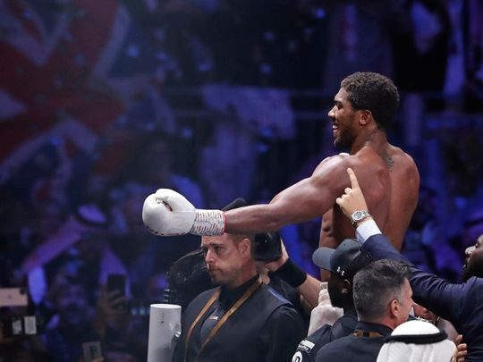 Anthony Joshua will face Pulev