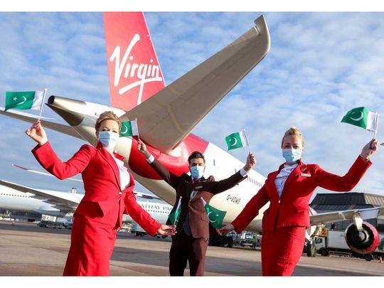 British airline Virgin Atlantic pakistan islamabad