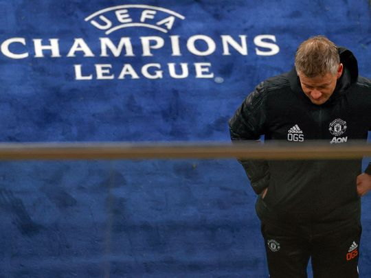 Ole Gunnar Solskjaer's Manchester United crashed out of the Champions League