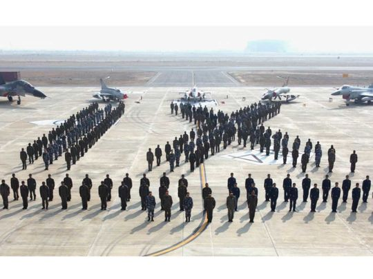 Pakistan China air force drill
