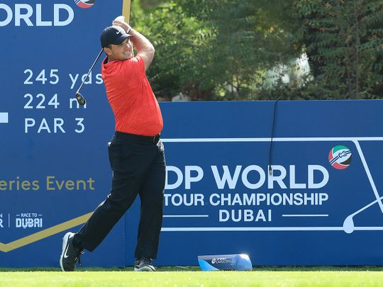 Patrick Reed leads the way in Dubai at DP World Tour Championship