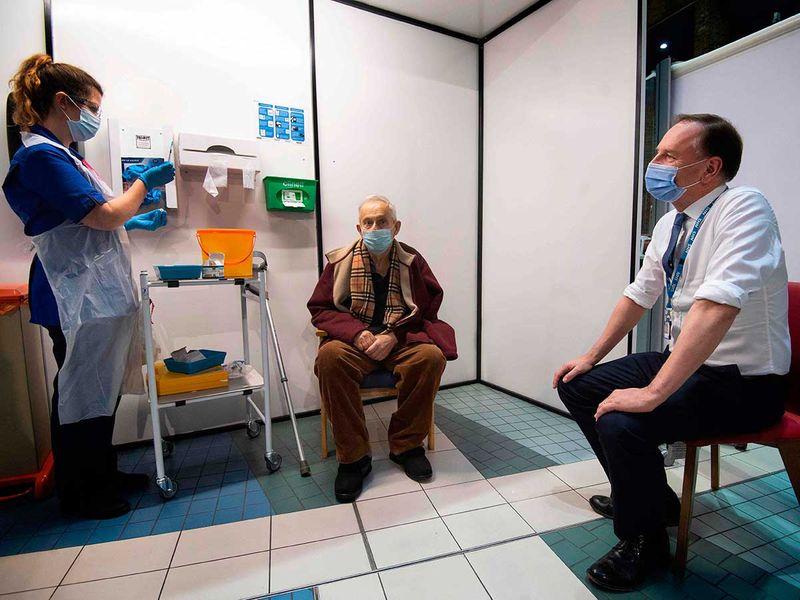 UK vaccine Guys Hospital