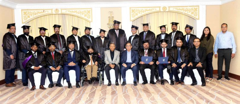 Convocation Ceremony of the first batch of the 'Strategic Financial Management for Executives' programme offered by IIM Indore and Anisuma Training Institute-1607771741295