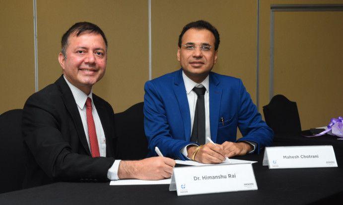 Dr Himanshu Rai,Director, IIM Indore and Dr Mahesh Chotrani, Founder and Managing Partner, Anisuma Training Institute Dubai ( L-R)-1607771743351