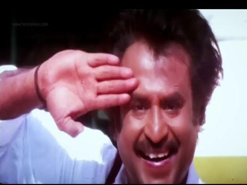 Rajinikanth salute