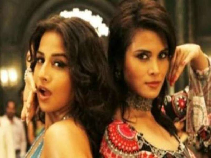 Vidya Balan with Arya Banerjee in The Dirty Picture. Banerjee was found dead.