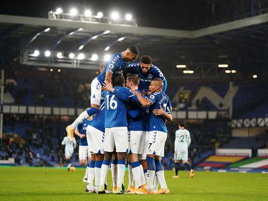 Everton defeated Chelsea 1-0