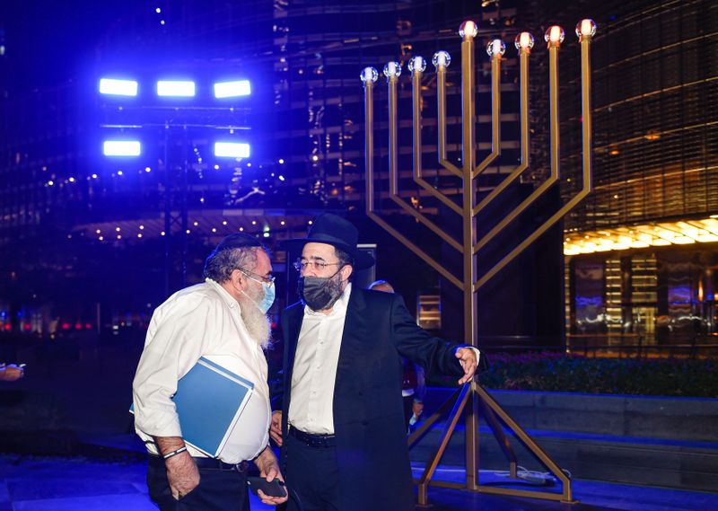 Hanukkah in Dubai