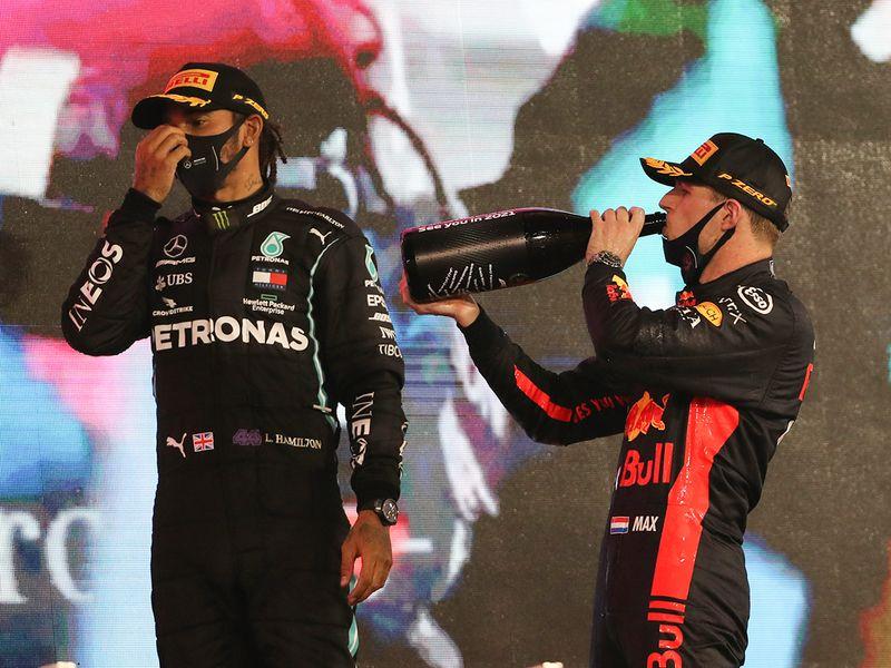 Max Verstappen wins the Abu Dhabi Grand Prix 2020