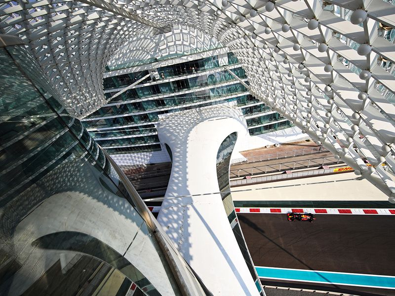 The Yas Marina Circuit plays host to the Abu Dhabi grand Prix once again