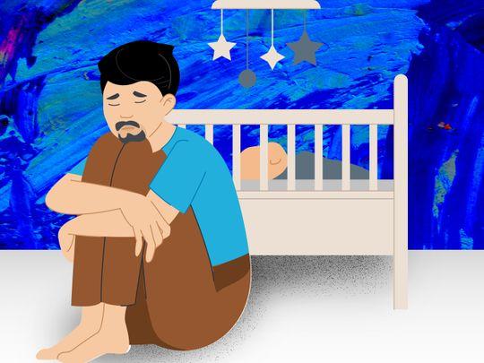 Male postnatal depression