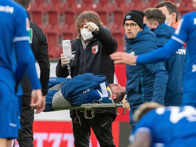 Mark Uth the Schalke striker