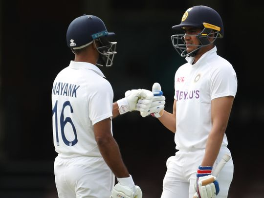 The three-day pink-ball game between Australia A and India ended in a draw.