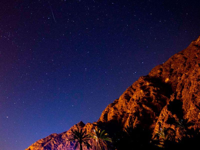 UAE meteor shower
