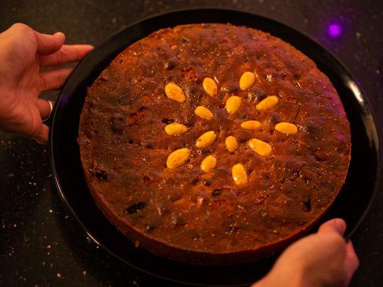 Kolkata-style Christmas Fruitcake