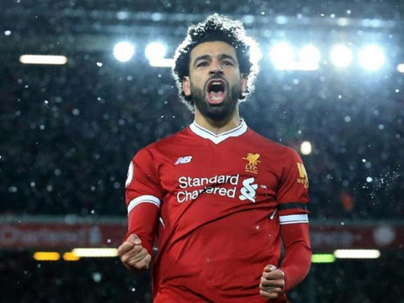 Liverpool's Mo Salah will be out to shine in the snow