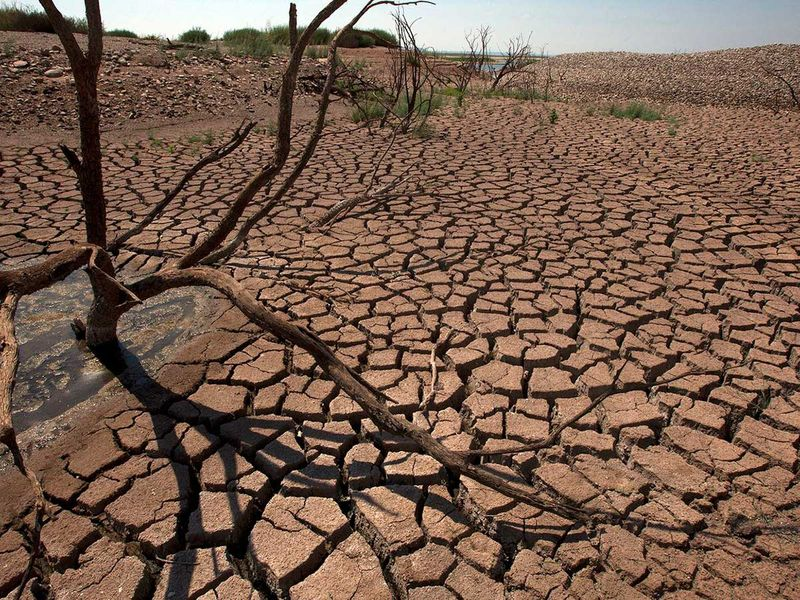 Drought climate