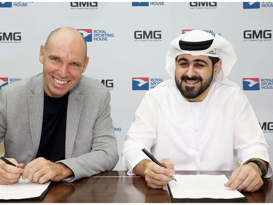 Mohammad A. Baker, CEO of GMG, Regis Schultz, Director of RSH