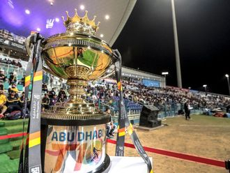 The Abu Dhabi T10 begins in January