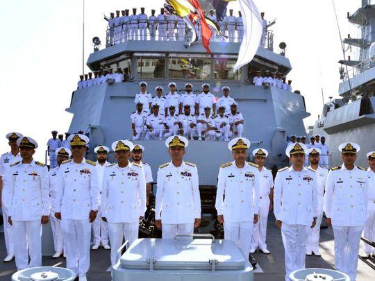 Chief of the Naval Staff Admiral Amjad Khan Niazi corvette Pakistan