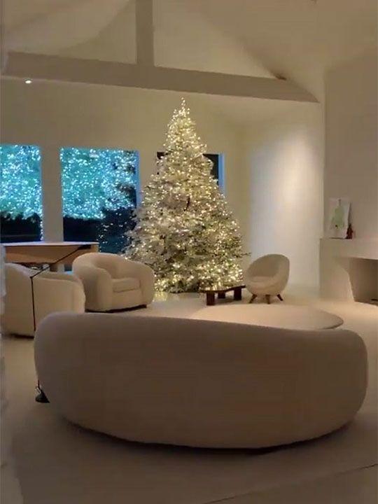 Kim Kardashian Christmas tree