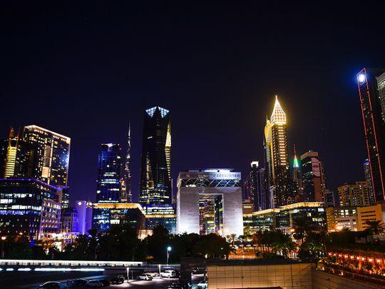 Stock Dubai skyline