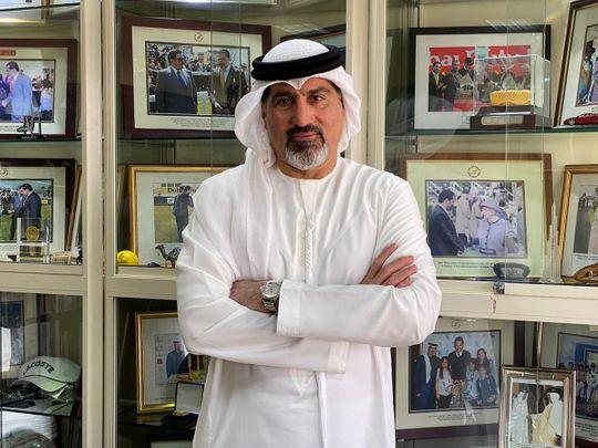 Dubai Tennis Championships Tournament Director Salah Tahlak