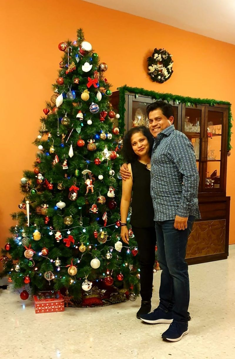 Charmain D'Souza and husband Andrae are missing their son this year