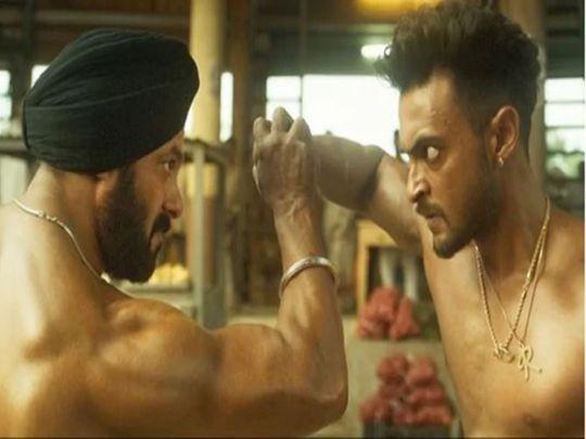 Salman Khan and Aayush Sharma