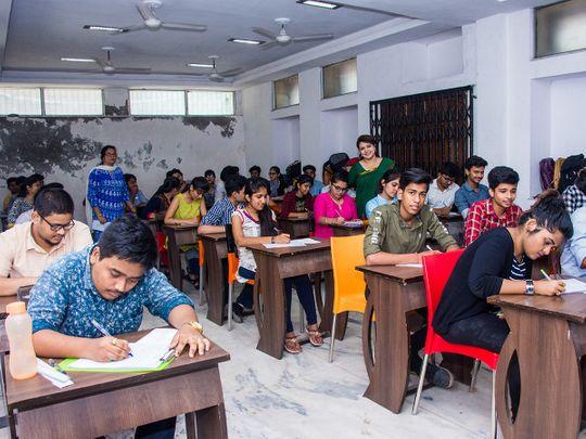 Indian school exam