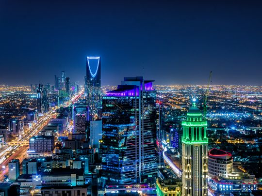 Riyadh city skyline