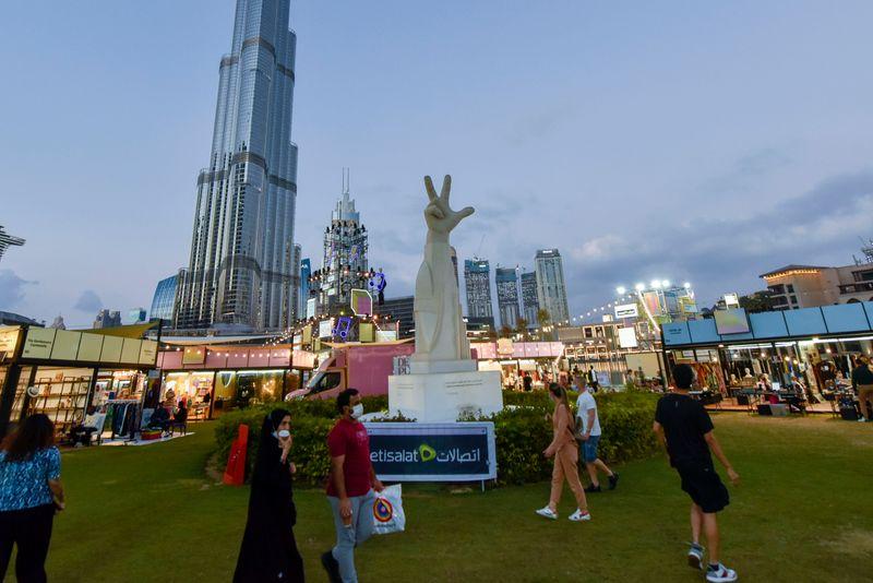 Market OTB DSF Burj Park 2020 Dubai Shopping Festival