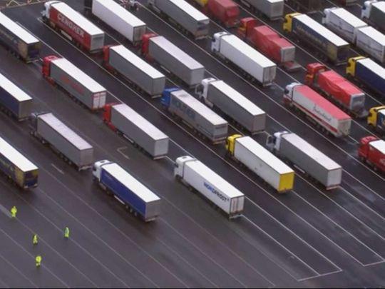 Trucks Dover England
