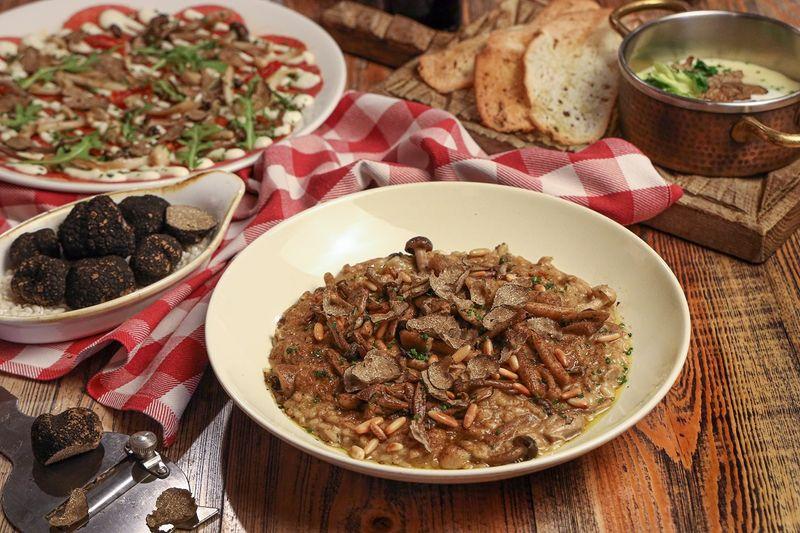 trattoria truffle menu