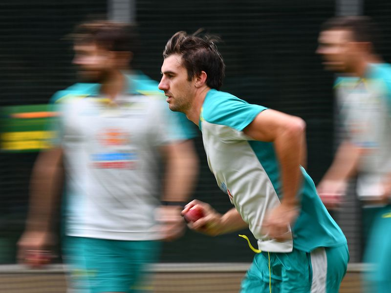 Australia train in Melbourne ahead of the second Test against India