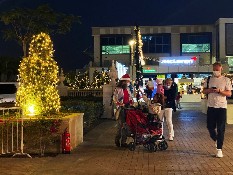 Festive Cheer in Dubai