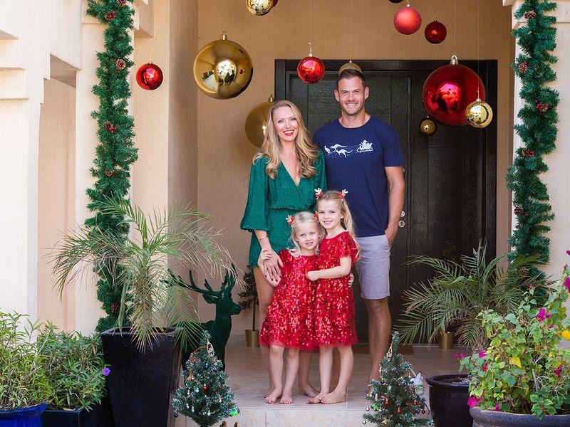 Festive family Xmas