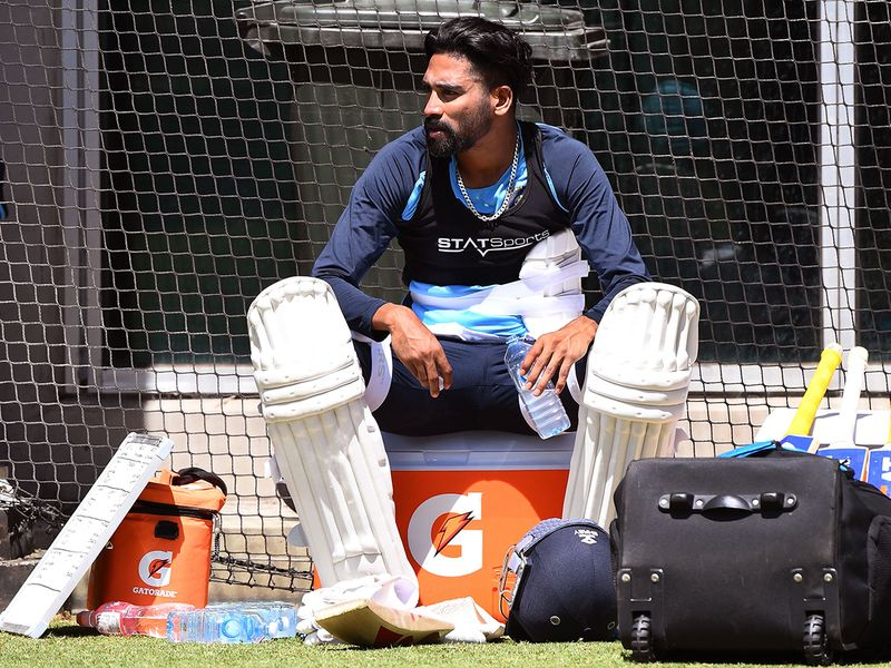 India train in Melbourne ahead of the second Test