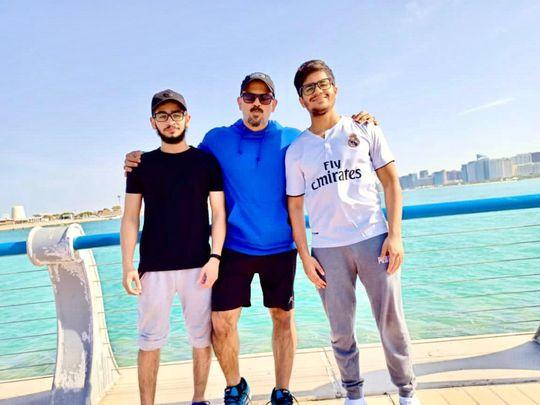 NAT Harun Rashied with his students-1608801583086