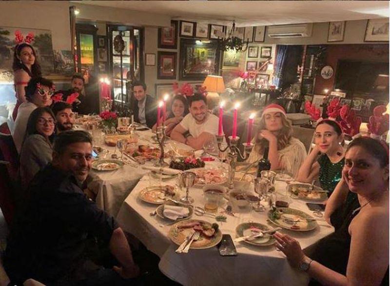 Christmas Eve dinner with Kapoors and Saif Ali Khan